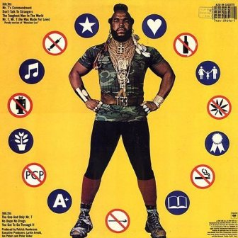 Mr T say no to drugs